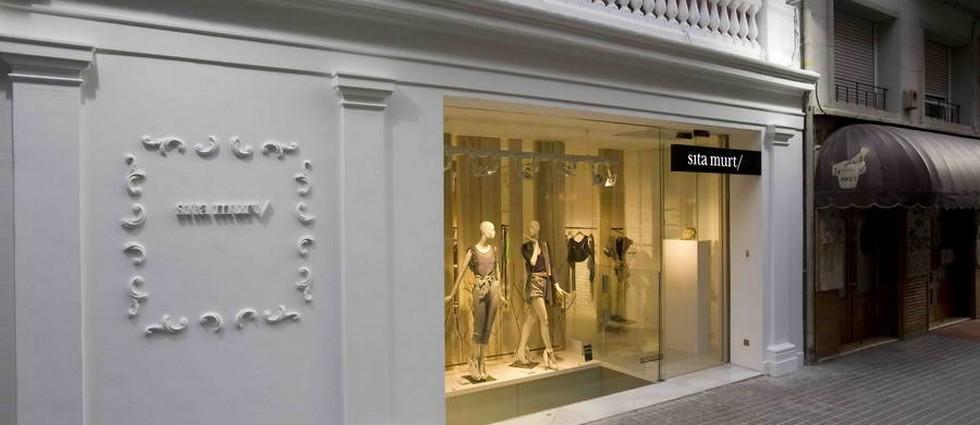 """""""Estudi Ribaudí es el estudio de que ha llevado a cabo el proyecto de interiorismo de la cuarta tienda de la diseñadora de moda Sita Murt en Barcelona"""" Diseño de la tienda Sita Murt en Barcelona portada10"""