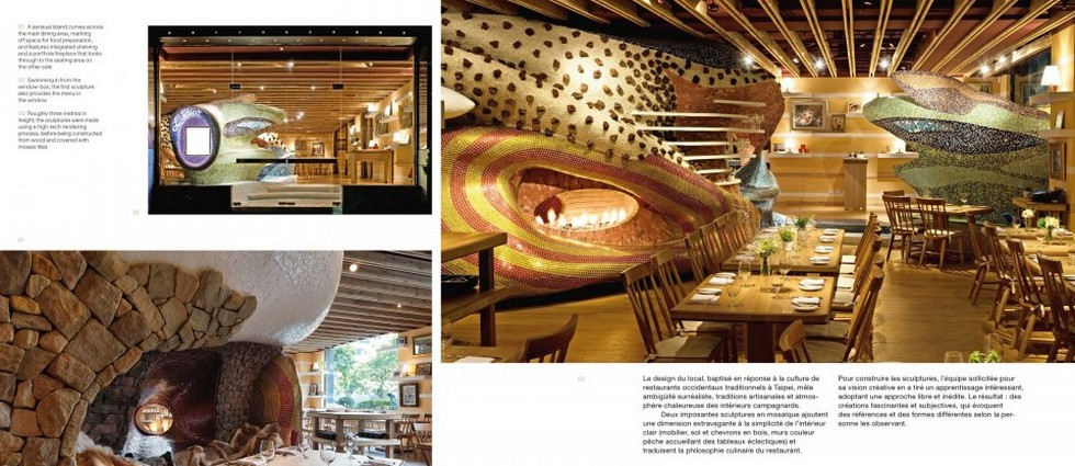 """L'Idiot Restaurant - Restaurant & Bar Design Awards "" Los 100 restaurantes y bares mejor diseñados del mundo portada2"