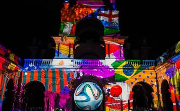 Brasil decora sus calles para el Mundial de Fútbol 2014 portada3 357x220