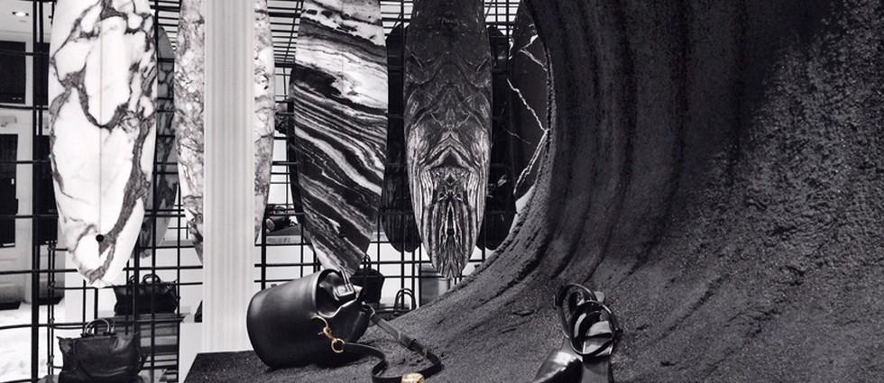 """""""El cada vez más famoso y cotizado diseñador Alexander Wang se unió recientemente a la compañía australiana de tablas de surf Haydenshapes para colaborar en la realización de 5 tablas de surf que combinan un ambiente deportivo con el diseño artístico de Wang."""" Tablas de surf de diseño: Alexander Wang y Haydenshapes Alexander Wang Haydenshapes 02"""