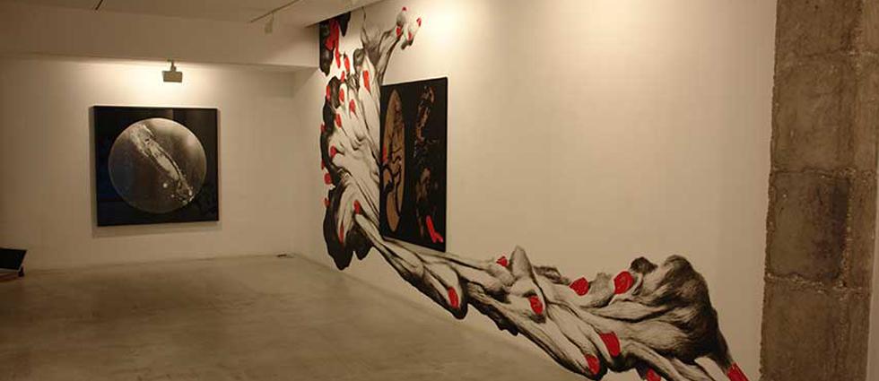 """""""Adora Calvo es una galería de Arte Contemporáneo que está ubicada en un sitio de lujo, frente al Convento de San Esteban."""" Adora Calvo, galería de arte contemporáneo en Salamanca galeria adora calvo en salamanca 2"""