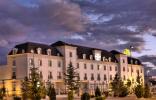"""""""Disfrute la experiencia de descubrir un lugar único. Un marco único en pleno corazón de La Mancha, Albacete, a tan solo 800 metros del Palacio de Congresos."""" Hotel Bagués, un hotel de 5 estrellas situado en las Ramblas hotel santa isabel albacete 1 156x100"""