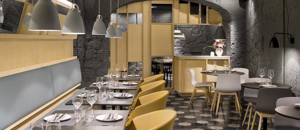 """""""El concepto gastronómico de Saboc """"cocina de temperatura"""", divide su propuesta en cuatro tipos de platos por temperaturas."""" Saboc, cocina minimalista en el barrio del Born restaurante saboc en barcelona 8"""