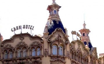 """""""El Gran Hotel Albacete ha sido seleccionado por Trivago gracias a la valoración de los viajeros y la cercanía a la Feria de Albacete.""""  Gran Hotel Albacete, un oasis de descanso en Albacete vista exterior del gran hotel albacete 1 357x220"""