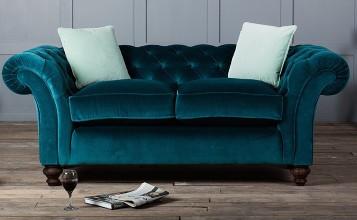 sofas-terciopelo-  Dale vida a tu juego de sala: coloridos sofás de terciopelo sofas terciopelo 1 featured 357x220