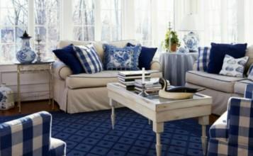 Las mejores decoraciones en azul para tu sala de estar 7150000 357x220