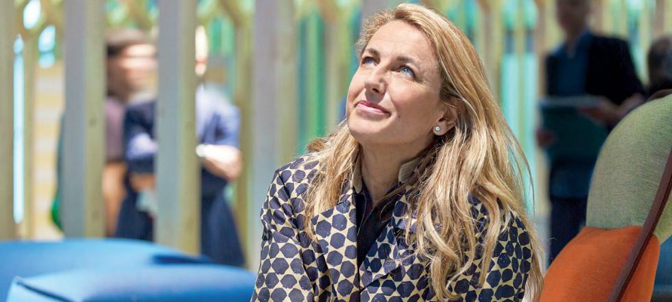 Patricia Urquiola Patricia Urquiola en el Salone del Mobile 2016 Patricia Urquiola en el Salone del Mobile 2016 1