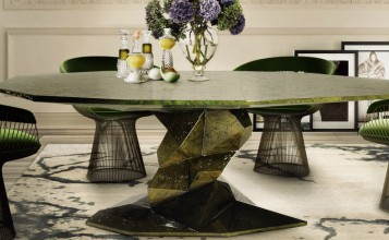 mesa de comedor El estilo zen de la mesa de comedor Bonsai El estilo zen de la mesa de comedor Bonsai1 357x220