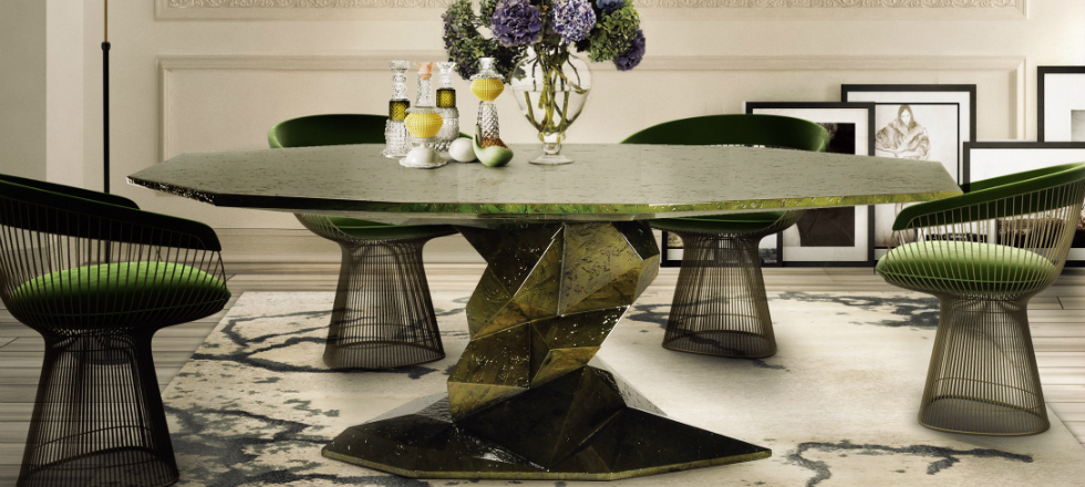 mesa de comedor El estilo zen de la mesa de comedor Bonsai El estilo zen de la mesa de comedor Bonsai1