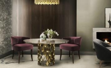 salas de comedor Las mejores ideas de decoración de salas de comedor para inspirarte Mesas de comedor modernas para inspirarte 357x220