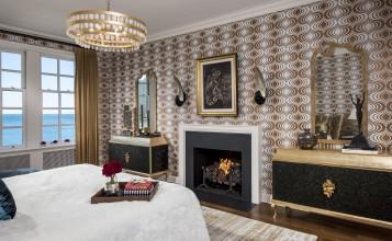 dormitorios femeninos Las mejores dormitorios femeninos de lujo A Classic Modern Home In Chicago koket bedroom 357x220