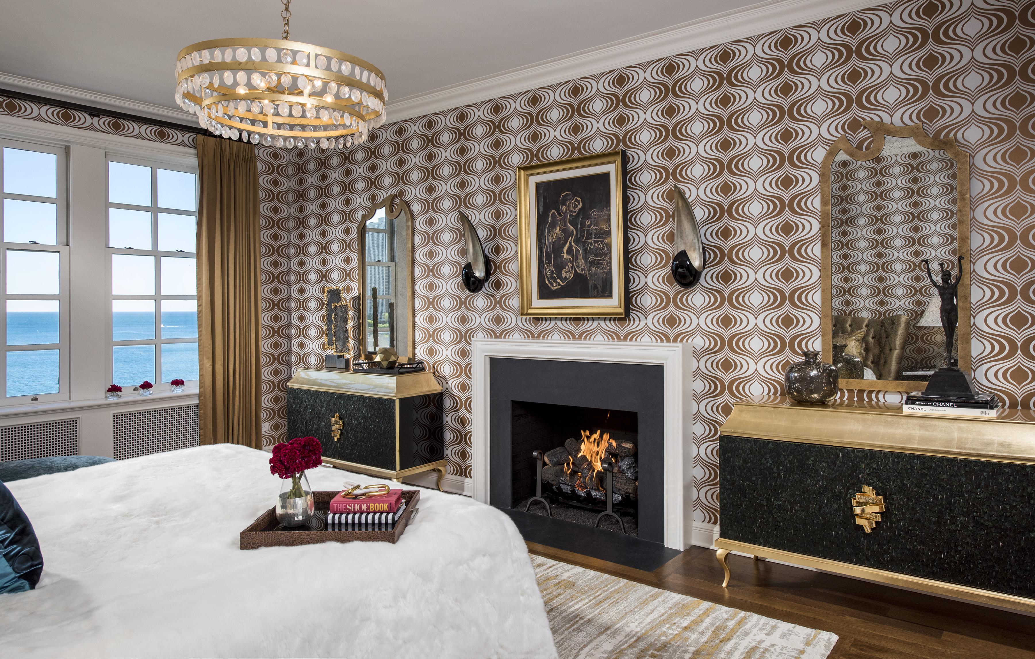 dormitorios femeninos Las mejores dormitorios femeninos de lujo A Classic Modern Home In Chicago koket bedroom