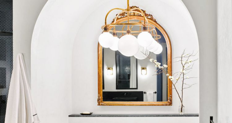 Ideas Para Decorar la Casa Con Fabulosos Espejos Dorados 10 Stunning Golden Mirrors Perfect for Your Home 8