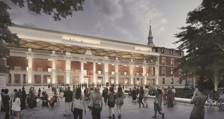 Ampliación del Museo del Prado Ampliación del Museo del Prado por Foster y Rubio 2 NF