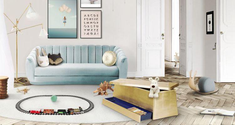 ideas para decorar  Mejores Ideas Para Decorar El Dormitorio de Los Niños gold box ambience circu magical furniture 011