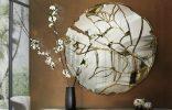 100 espejos de pared  Encántese Con Esta Preciosa Selección de Espejos Elegantes 100espejos de pared glance 156x100