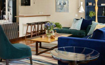 Apartamento moderno y colorido  Pájaros – Impresionante Proyecto de Apartamento Moderno Y Colorido capa 357x220