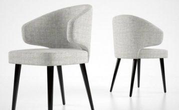 sillas modernas y elegantes 4  Las 60 Sillas Más Modernas y Elegantes Para su Casa – Ebook 1 357x220