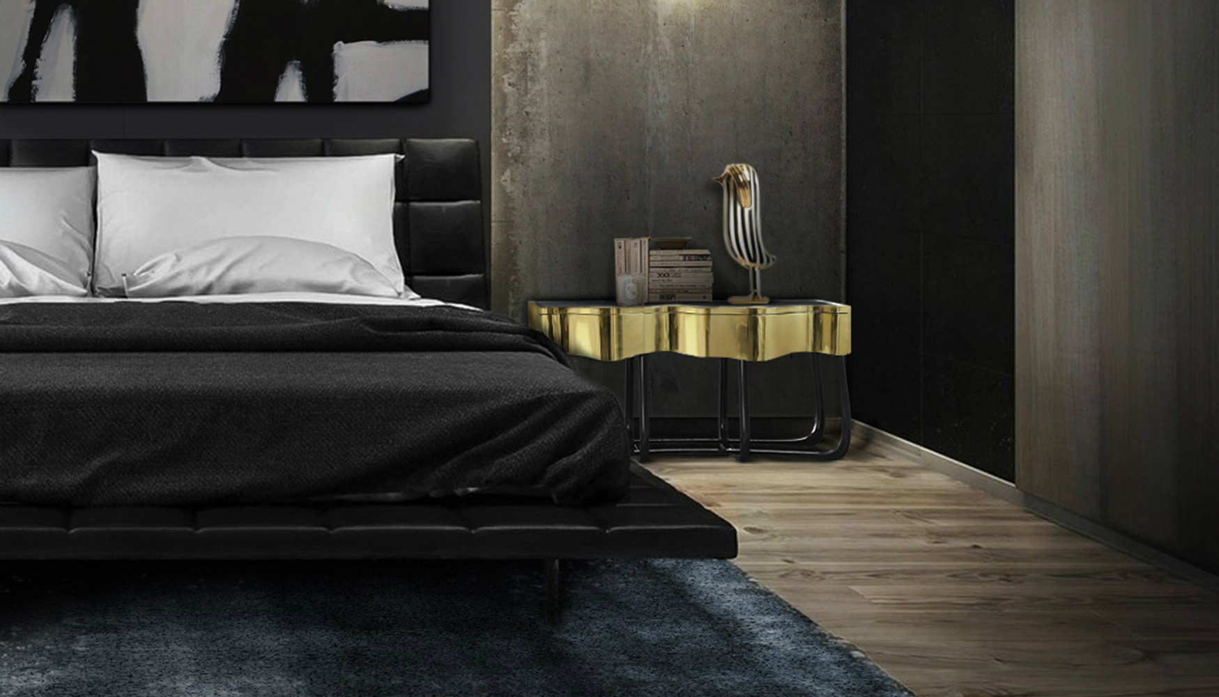 IMM Cologne 2018 Ideas de Diseño de Interiores para Tomar de IMM Cologne 2018 SINUOUS Nightstand Boca do Lobo 221322 reldeec8c61