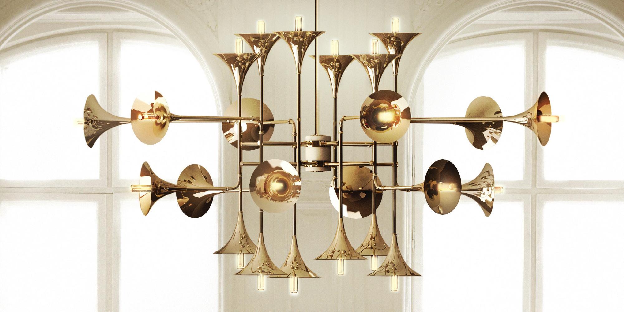 decoraciones de navidad Decoraciones de Navidad: Lámparas de estilo mediados de Siglo botti chandelier ambience 01 HR