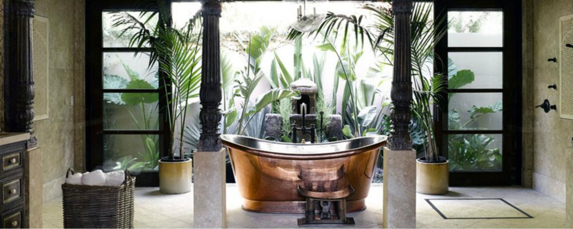 tendencias para decorar Tendencias para Decorar: Ideas de lujo para cuarto de baño Featured 16
