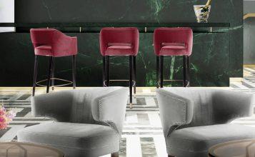 Tendencias de Interiorismo: 10 Sillas de lujo para Bar Ideas para decorar Ideas para decorar: Lujoso Aparadores para tú sala de estar FEATURED 357x220
