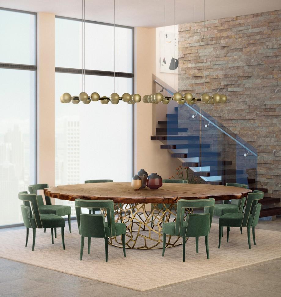 sillas para comedores Sillas para comedores: Ideas lujuosas para proyectos fantasticos brabbu ambience press 86 HR