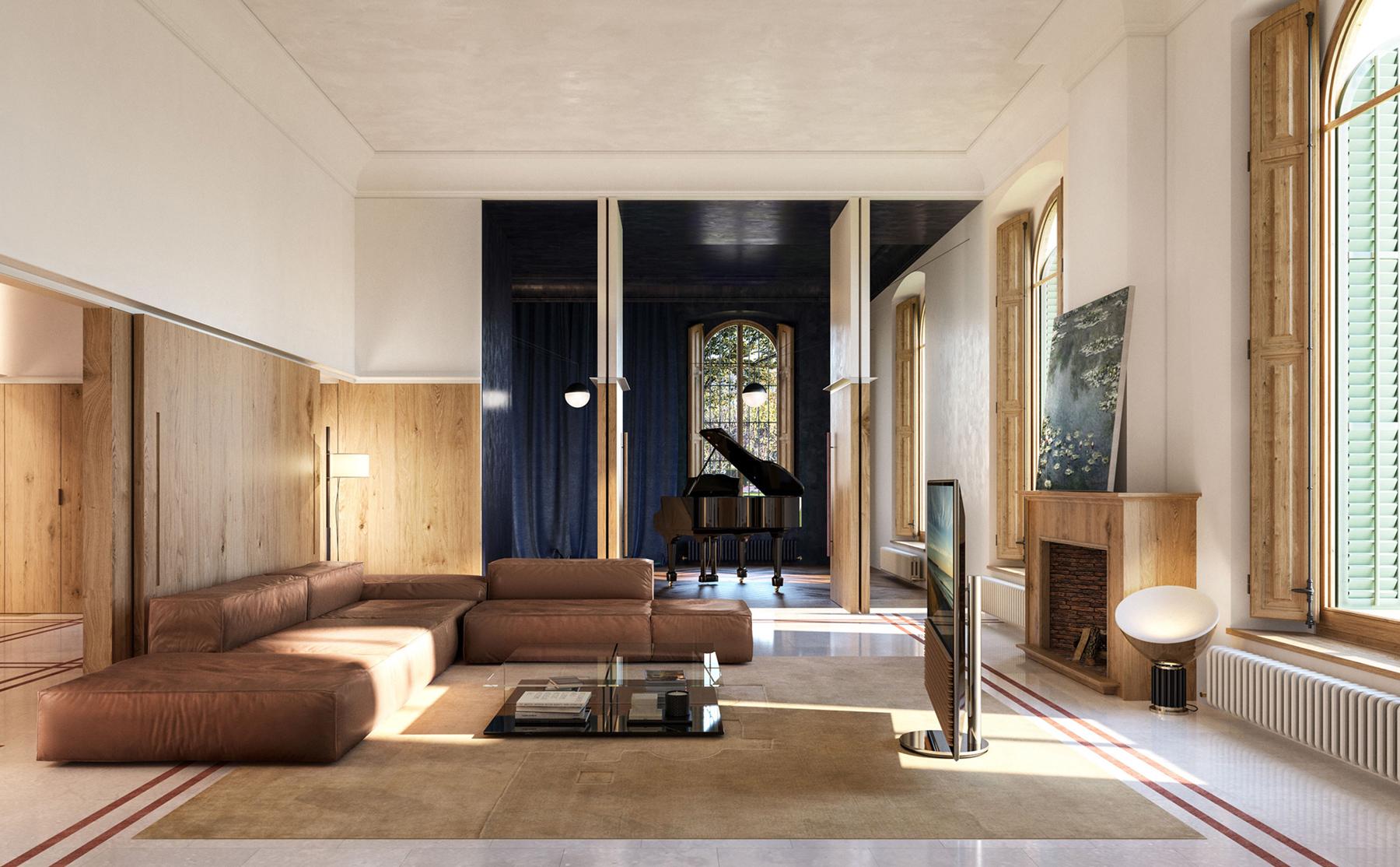 [object object] Interiorismo en Barcelona: Mesura crea proyectos lujuosos y elegantes mesura arquitectos architects can llimona reforma interior design play time 03 1