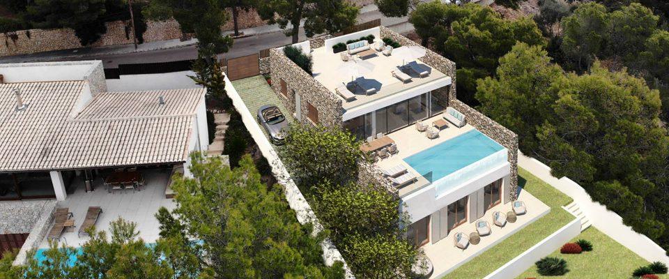 Proyectos de lujo: Mora Arquitectos una empresa en Palma de Mallorca