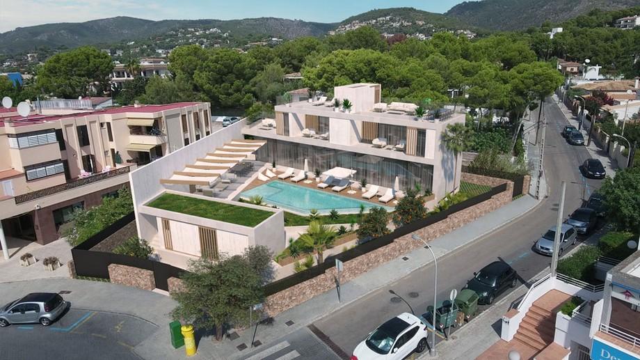 Proyectos de lujo: Mora Arquitectos una empresa en Palma de Mallorca proyectos de lujo Proyectos de lujo: Mora Arquitectos una empresa en Palma de Mallorca VILLA PORTALS PLAZA