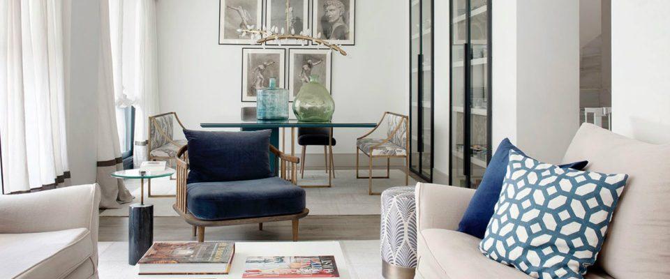 Estudio María Santos: Proyectos de Diseño de Interiores lujuoso en Madrid
