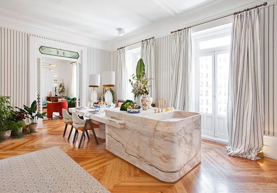 Top Interiorista: Beatriz Silveira una diseñadora lujuosa y elegante top interiorista Top Interiorista: Beatriz Silveira una diseñadora lujuosa y elegante 01 isla marmol