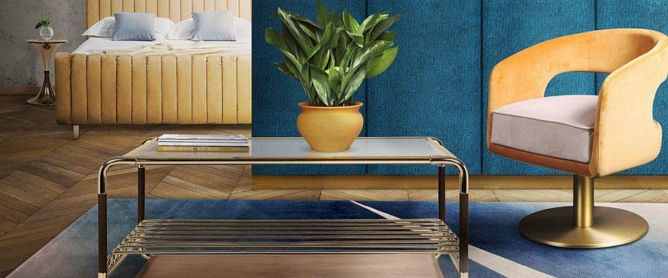 Mesas de Centro para un proyecto y ambiente lujuoso y elegante