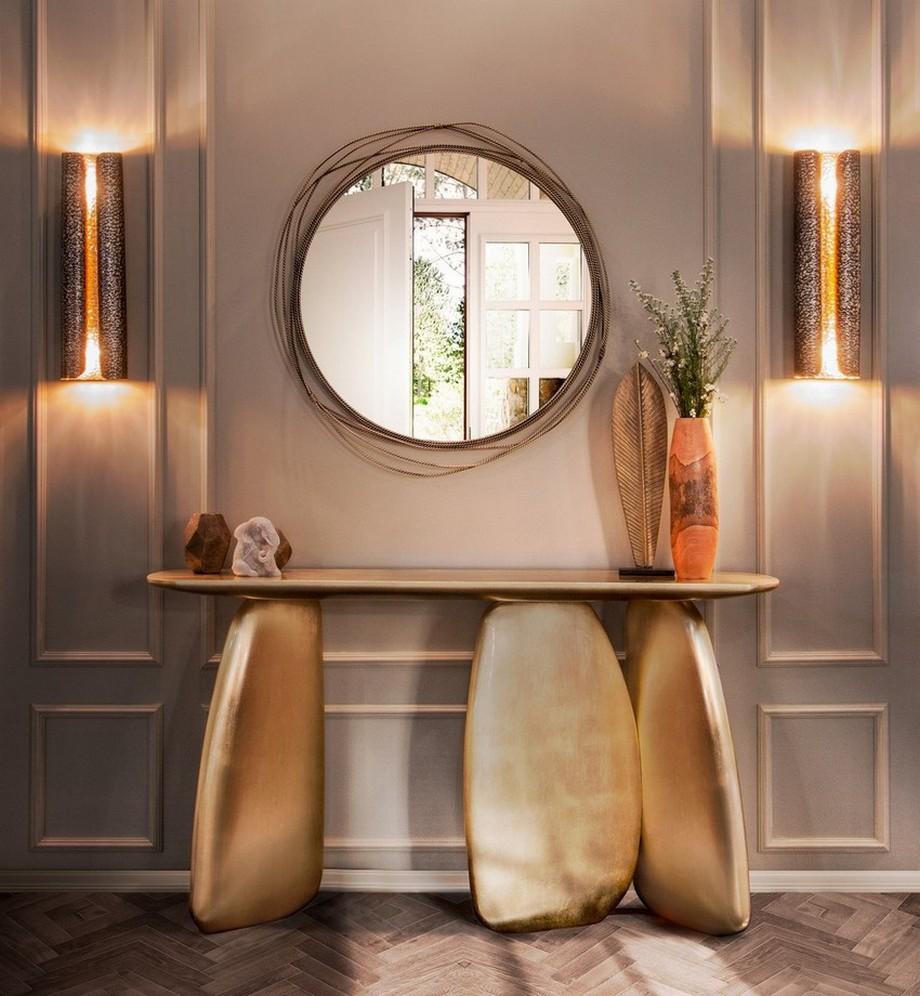 Tendencias Decorar: Espejos elegantes y modernos para complementar el diseño tendencias decorar Tendencias Decorar: Espejos elegantes y modernos para complementar el diseño casa padrino luxus wohnzimmer hotel spiegel wands 1