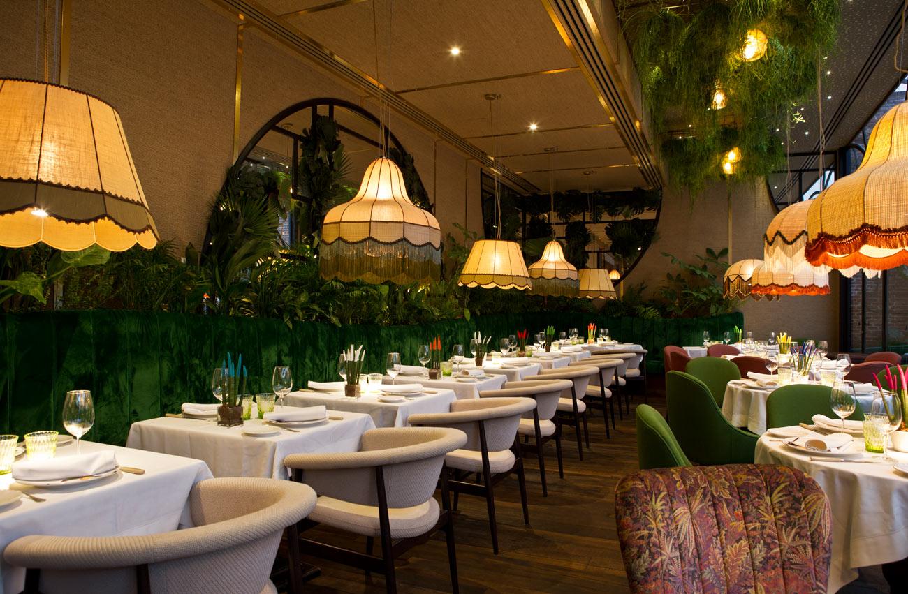 Iluminación lujuosa: L&S una empresa con proyectos elegantes en Madrid iluminación lujuosa Iluminación lujuosa: L&S una empresa con proyectos elegantes en Madrid lamparas restaurante amazonico