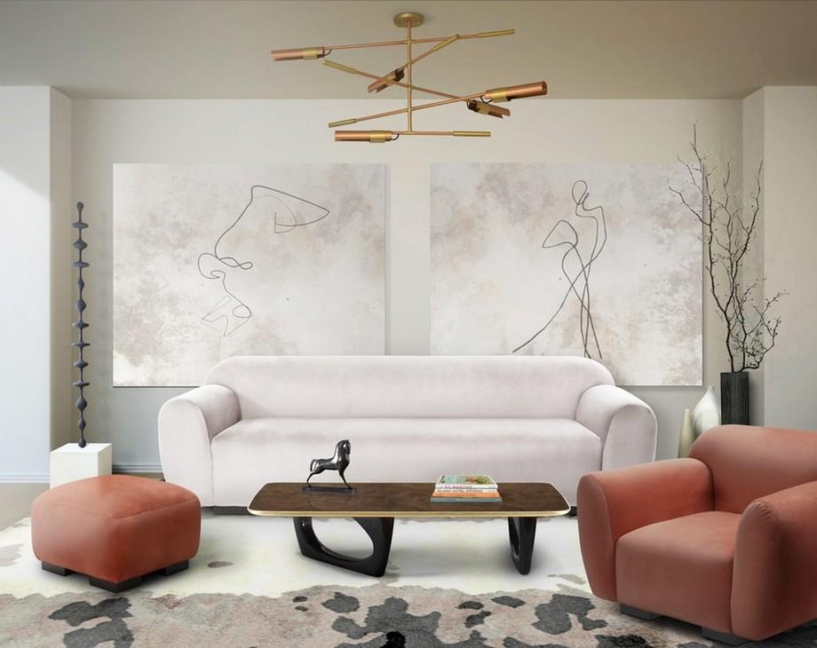 Diseño de interiores: Sofas modernos para la decoración de una sala de estar elegante diseño de interiores Diseño de interiores: Sofas modernos para la decoración de una sala de estar elegante BB Otter Sofa Modern