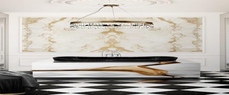 Tendencias de Diseño Moderno para hacer una decoración de primavera en Baño