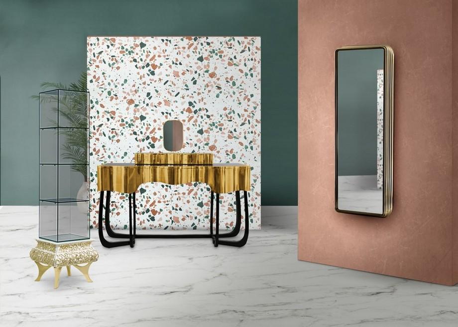 Tendencias de Diseño Moderno para hacer una decoración de primavera en Baño tendencias de diseño Tendencias de Diseño Moderno para hacer una decoración de primavera en Baño terrazzo2