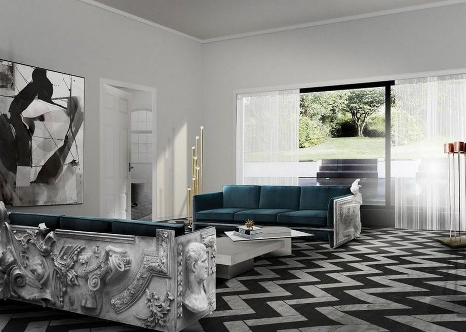 Diseño de interiores: Sofas modernos para la decoración de una sala de estar elegante diseño de interiores Diseño de interiores: Sofas modernos para la decoración de una sala de estar elegante versailles
