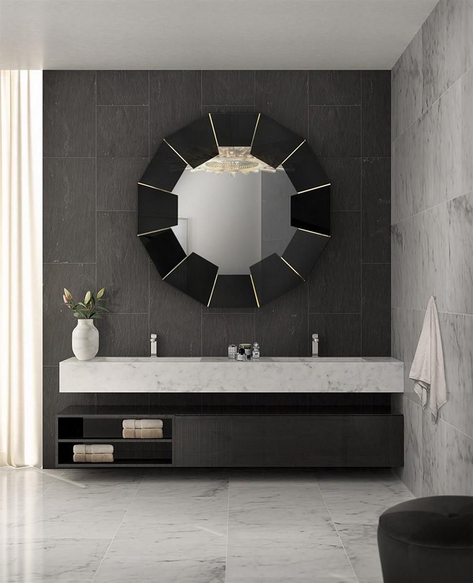 Cuarto de Baño: La combinación clásica de negro y oro cuarto de baño Cuarto de Baño: La combinación clásica de negro y oro 4 1