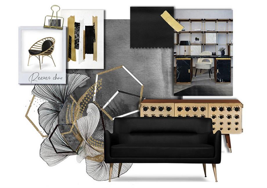 Cuarto de Baño: La combinación clásica de negro y oro cuarto de baño Cuarto de Baño: La combinación clásica de negro y oro Black and Gold 5 Pieces to Sport this Timeless Combo 9