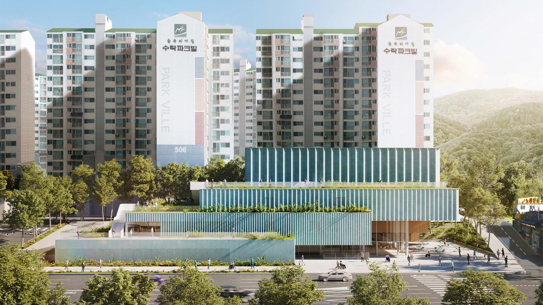 Estudio de Arquitectura: Daniel Valle crea proyectos poderosos en España estudio de arquitectura Estudio de Arquitectura: Daniel Valle crea proyectos poderosos en España Eoullim Sport Center Seoul Exterior 2