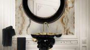 Cuarto de Baño: La combinación clásica de negro y oro cuarto de baño Cuarto de Baño: La combinación clásica de negro y oro Featured 9 178x100