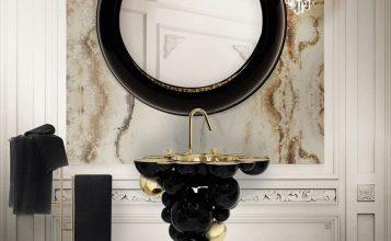 Cuarto de Baño: La combinación clásica de negro y oro cuarto de baño Cuarto de Baño: La combinación clásica de negro y oro Featured 9 357x220