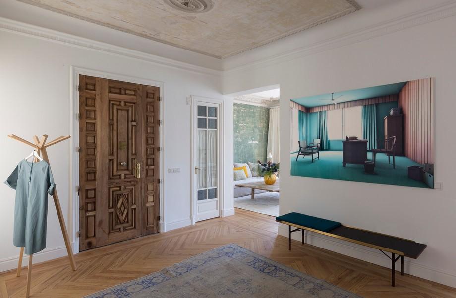 estudio de arquitectura Estudio de Arquitectura: Ábaton crea proyectos lujuosos y exclusivos reforma sagasta i hall de entrada 02