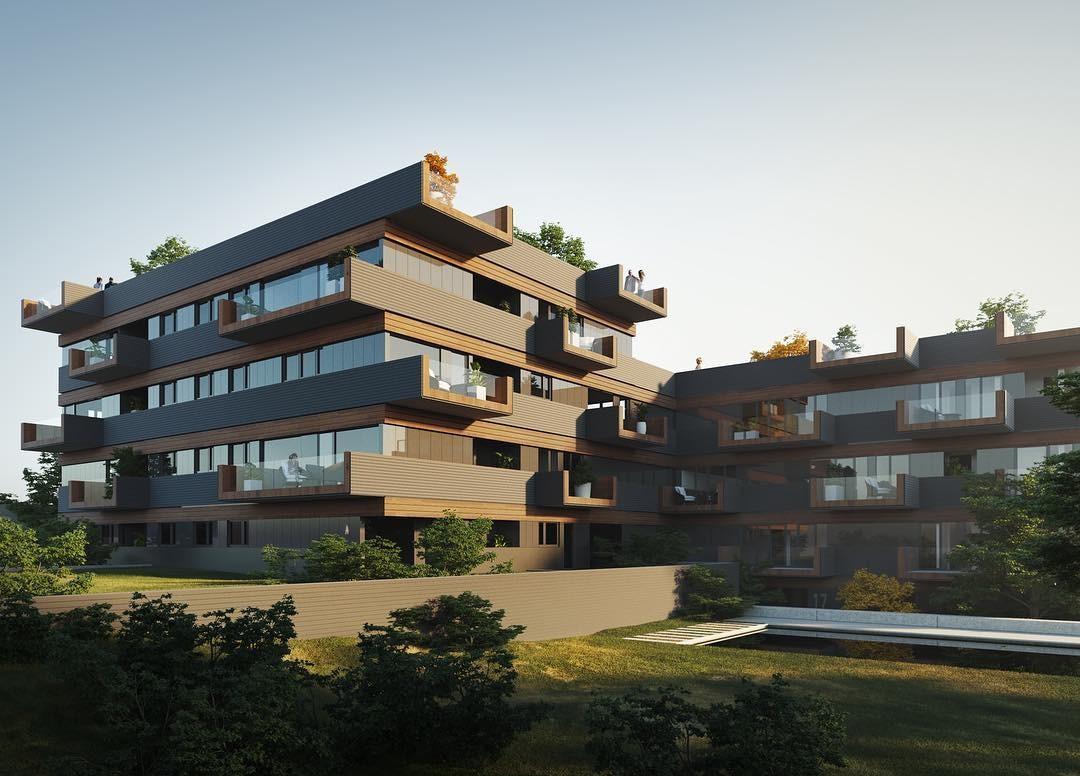 Estudio de Arquitectura: BAT crea proyectos lujuosos y poderosos en Bilbao