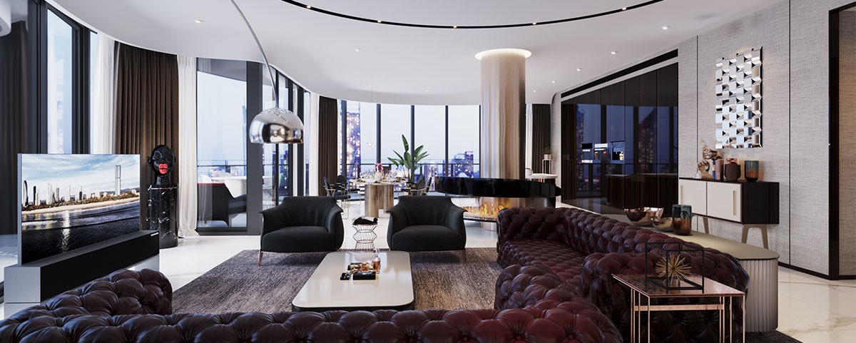 Top Arquitectura: Sog Design crea proyectos poderosos desde Barcelona top arquitectura Top Arquitectura: Sog Design crea proyectos poderosos desde Barcelona Penthouse Abian Tower fiture1200x481