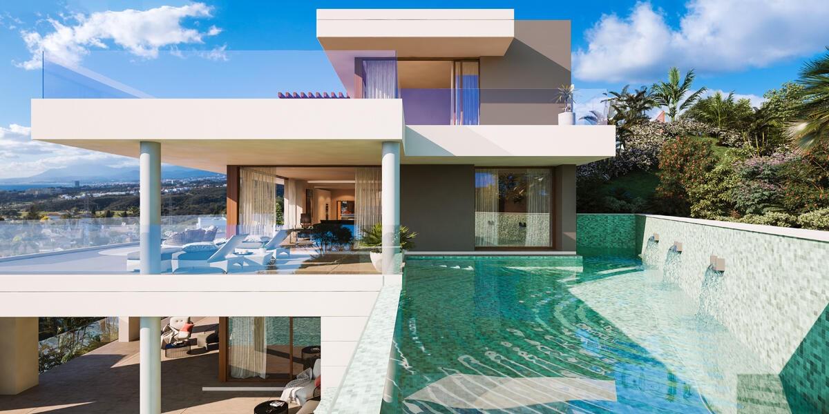 estudio de arquitectura Estudio de Arquitectura: González & Jacobson crea proyectos poderosos villa de lujo en marbella el rosario 292 malaga 04