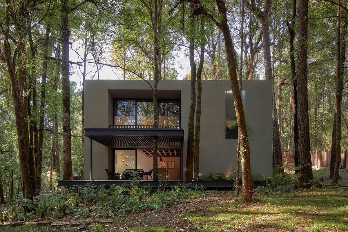 estudio de interiores Estudio de Interiores: Weber Arquitectos crea lujuosos y exclusivos ambientes 01 RSS CABA A PRINCIPAL FACHADA POSTERIOR 1