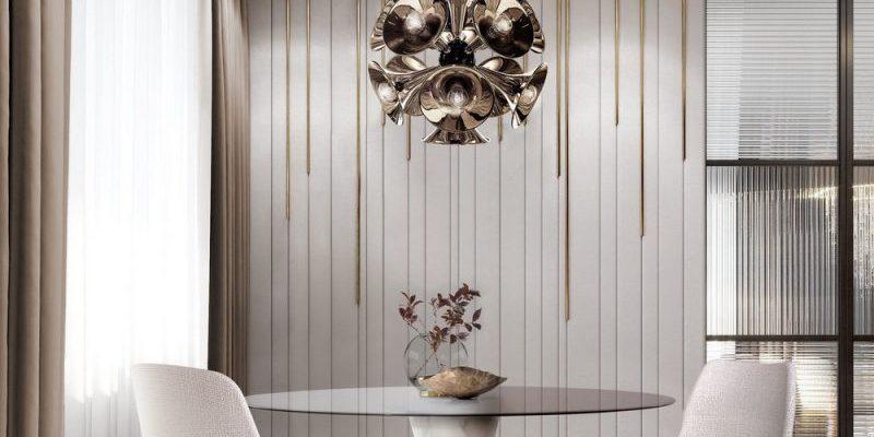Muebles Modernos: Ideas de Comedores para un Interior lujuoso